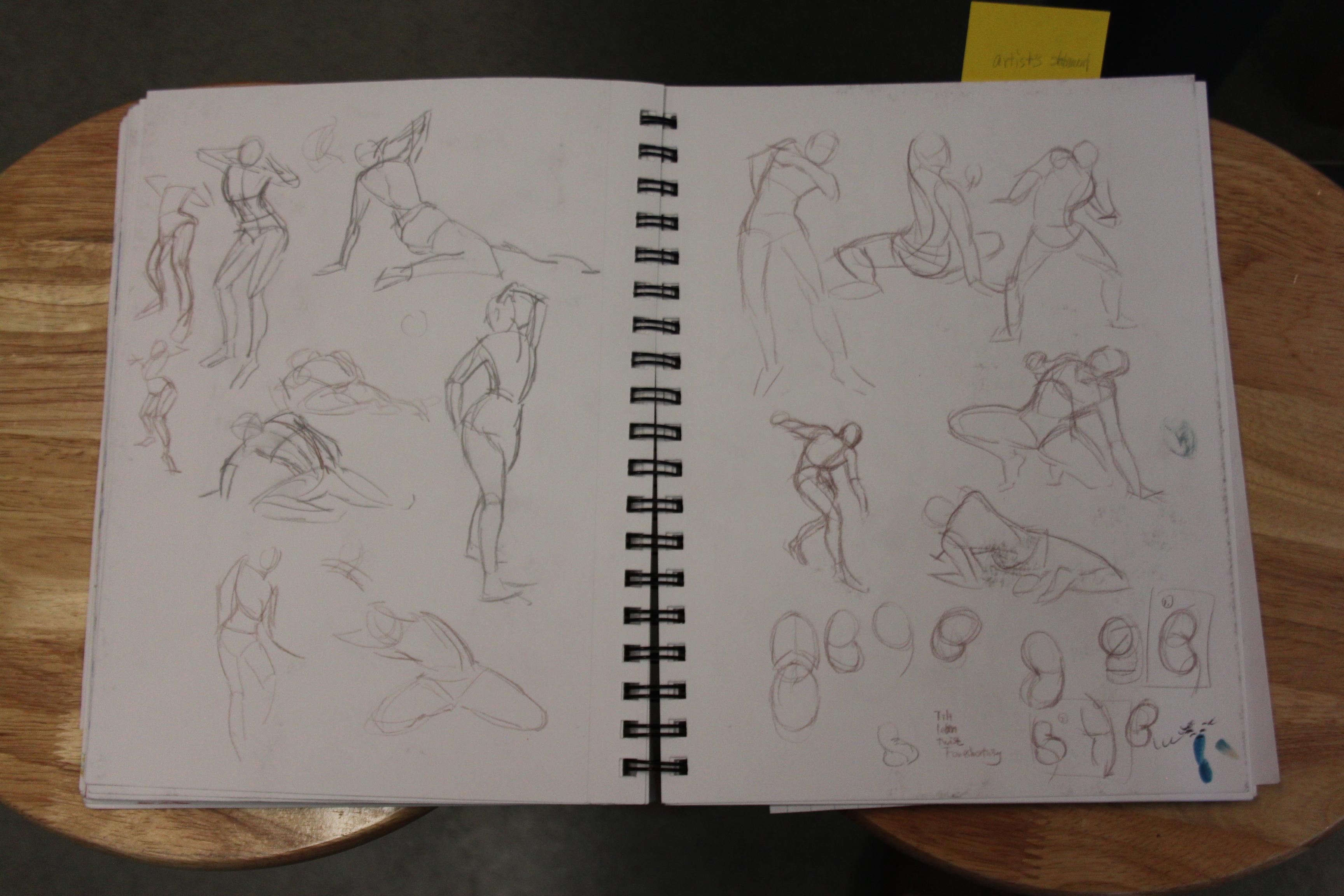 Art 20- Figure Studies